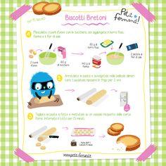 Per la rubrica ricette per bambini dei biscotti bretoni semplici e veloci da preparare! Altre dolci ricette sul nostro blog, lo chef Fernand vi aspetta!