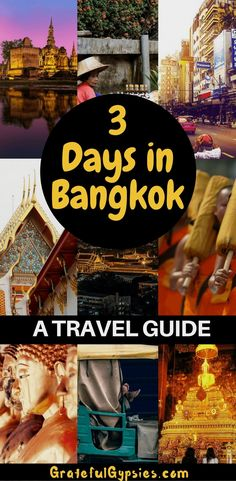 How To Spend 3 Incredible Days in Bangkok Check out this itinerary for Bangkok. You'll see temples, night markets, gorgeous shopping malls, and nightlife. Bangkok is a must-visit for travel in Thailand. Thailand Vacation, Visit Thailand, Bangkok Thailand, Thailand Shopping, Koh Phangan, Bangkok Travel, Thailand Travel, Pattaya, New Travel
