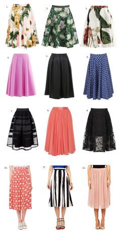 Swing skirts for Spring