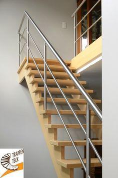 Moderne trap van Trappen Teck Puurs www.trappenteck.be