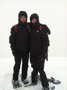 Teen Adam Peterman and Mike Foote attempting expedition from Death Valley to Mount Whitney next week