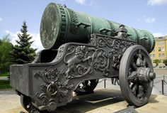 russian twinn cannon tanks | Russians swaggered up with their own Mutually Assured Demolisher. Forged in 1585, the Tsar Cannon was a 35-inch-wide yawning monster designed to toss 800 pounds of grapeshot -- a whole lot of little balls instead of one big one -- at people unliked. The Tsar was never fired, but that didn't stop the Russian military from boring everyone by bragging about how huge it was.