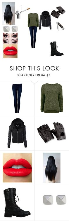 """""""Untitled #383"""" by oreo-demon ❤ liked on Polyvore featuring Forever New, Vero Moda, Vince Camuto and Zippo"""