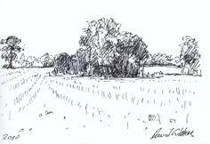 Landscape Drawings   dave gibbons artwork