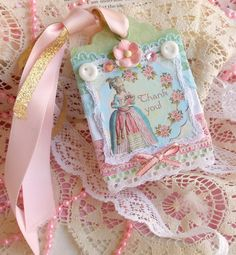 Hey, I found this really awesome Etsy listing at https://www.etsy.com/listing/95140204/hang-tag-marie-antoinette-mixed-media