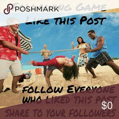 Following Game Like, follow everyone and share. Please don't forget to follow your host, and I will follow you back. Other