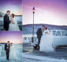 Wedding Day   Bride & Groom   Sunset   Winter Wedding   Love © Matt Ramos Photography