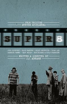 Super 8 Film Poster by sap41387 on Etsy