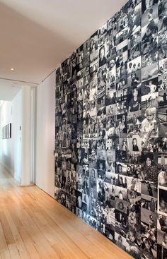 Memory hallway- this would be perfect to fill a blank wall. Maybe with a good quote in the middle of it??