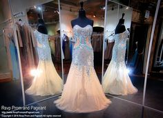 Silver Sweetheart Strapless Prom Dress
