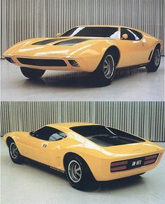 AMX / 2 concept - a supercar from AMC