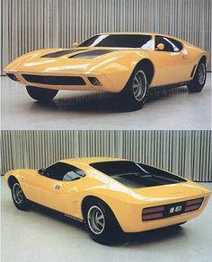 AMX / 2 concept - a supercar from AMC