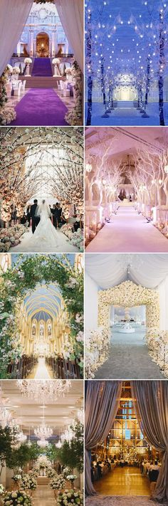 Making a Beautiful Entrance! 26 Creative Wedding Entrance Decor Ideas! Indoor entrance!