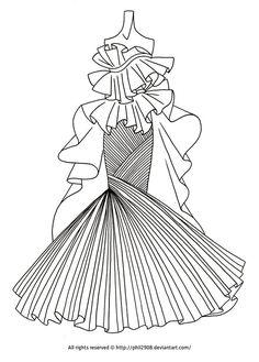 Fashion Coloring Page Fashion Coloring Pages for Adults