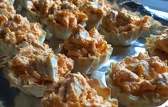 Buffalo Chicken Dip Bites | No Place Like Home Cleveland