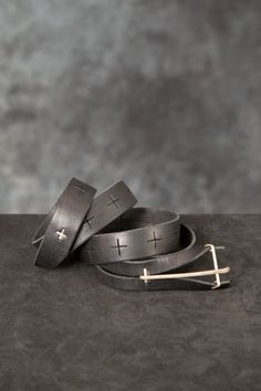 "M.A+ – ""Y"" Buckle Medium Belt PNP-firenze #maurizioamadei #pnpfirenze"