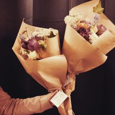Brown paper wrapping flower bouquet pinterest brown paper brown paper wrapping mightylinksfo