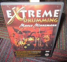 MARCO MINNEMANN - EXTREME DRUMMING DVD, DRUMMING SECRETS,COMPOSING SKILLS & MORE
