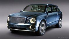#Bentley werkt aan een dikke #SUV.