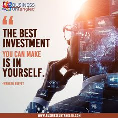 Invest in yourself and your business. 👩💼 😊 Let Business Untangled educate you on simple tricks and skills that will catapult your profit and make you the successful CEO of your own business as you have dreamed. 👩🏫 📈 It is easy as A-B-C! Learn more at www.businessuntangled.com 💁♀️ 👍 . . . . . #fridaymood #FridayMotivation #tgifriday #business_untangled #successmindset #successcoach #tax #businesscoach #smallbusiness #homebusiness Success Coach, Success Mindset, Tgi Fridays, Friday Motivation, Best Investments, Investing, Let It Be, Business, How To Make