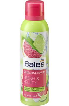 Balea Duschschaum Fresh & Fruity, € 1,95 bei dm