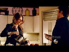 """Castle 8x20 Opening Scene Beckett Forgets Date Night """"Much Ado About Murder"""" Season 8 Episode 20 - YouTube"""