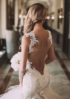 The back of this dress is divine