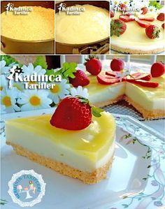 Semolina Dessert with Lemon Sauce Recipe, How to Make – Pratik Hızlı ve Kolay Yemek Tarifleri Lemon Desserts, Lemon Recipes, Summer Desserts, Sauce Recipes, Dessert Recipes, Cooking Recipes, Turkish Sweets, Lemon Sauce, Kitchens