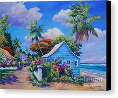 Caribbean Painting - The Road Less Travelled by John Clark Canvas Art, Canvas Prints, Art Prints, Canvas Paper, Framed Prints, Original Artwork, Original Paintings, Simple Paintings, Beautiful Paintings