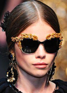Dolce and Gabbana Fall 2012.