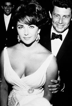 Liz Taylor con Eddie Fisher en 1959.