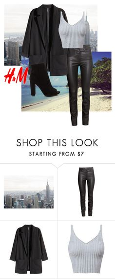 """""""H&M outfit"""" by inthesummer ❤ liked on Polyvore featuring H&M"""