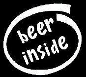 New Custom Screen Printed T-shirt Beer Inside Small - 4XL Free S