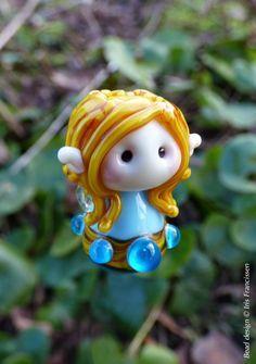 Cute little Jewel Fairy glass bead