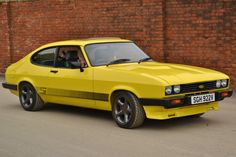 1980_yellow_ford_capri Maintenance of old vehicles: the material for new cogs/casters/gears could be cast polyamide which I (Cast polyamide) can produce