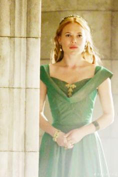 Lady Greer <3 I LOVE her dress!