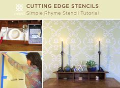 Simple Rhyme Stencil Tutorial