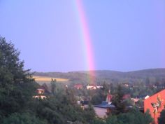 A rainbow over the base I was stationed in Baumholder, Germany
