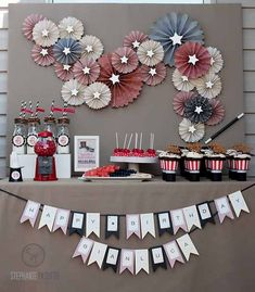 Vintage Magic 6th Birthday {Boy Party Ideas} - Spaceships and Laser Beams