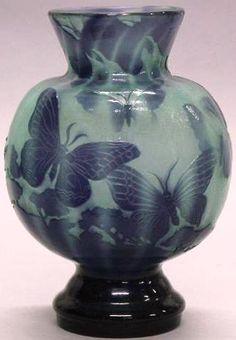 Galle Art Nouveau Vase.