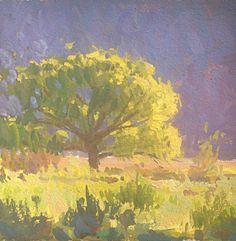 Mike Hernandez  6x6 gouache Mini Paintings, Landscape Paintings, Gouche Painting, Painting & Drawing, Painting Trees, Gouache Color, Painting Techniques, Painting Tutorials, Guache