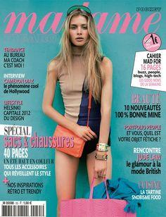 Madame Figaro France April 2012 Annemara Post