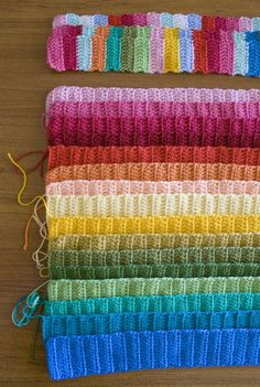 Crochet hanger tutorial ... just love the colours in this picture x