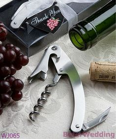 WJ065 Vineyard Collection Wine Tool Favors Wedding Decoration, Wedding Gift, Wedding Souvenir  Useful Wedding Gifts, Pratical Party Favors at BeterWedding, Shanghai Beter Gifts Co Ltd. http://www.aliexpress.com/store/512567