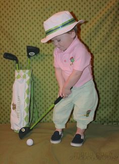 The Littlest Golfer Clubs. Designed specifically for toddlers and young children