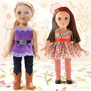 Take a look at the It's All About Dolls event on #zulily today!