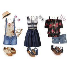 3 outfits that are cute for Tweens and teens