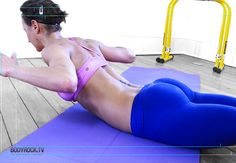 links to bodyrock.tv the best website, it has tons of home workout strength and cardio moves with video fitness-inspiration flat-abs Fitness Diet, Fitness Motivation, Health Fitness, Video Fitness, Workout Fitness, Diástase Abdominal, Fitness Inspiration, Sculpter Son Corps, Get Skinny