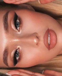 Blush Makeup, Glam Makeup, Skin Makeup, Makeup Inspo, Makeup Inspiration, Beauty Makeup, Makeup Cosmetics, Makeup Art, Prom Makeup Looks