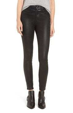 Free shipping and returns on Articles of Society 'Hailey' High Rise Coated Skinny Jeans at Nordstrom.com. At once retro-cool and futuristic, these high-waisted skinny jeans will add a dose of slick, versatile texture to your closet.